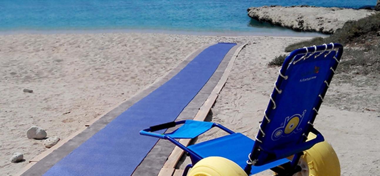 Accessibilità in spiaggia